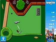 Backyard mini golf online