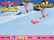 Barbie skiing game ingyen j�t�k