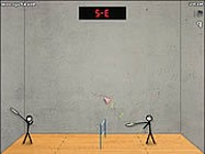 Stick figure badminton online